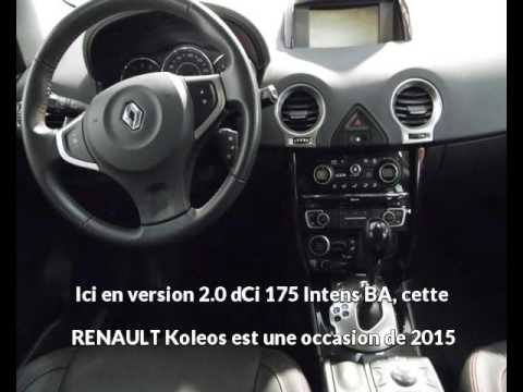 renault koleos 2 0 dci 175 intens ba aurillac une. Black Bedroom Furniture Sets. Home Design Ideas