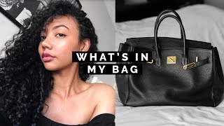 WHAT'S IN MY BAG ✨ | Asia Jackson
