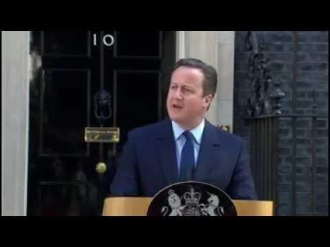EU vote  David Cameron says UK 'needs fresh leadership'