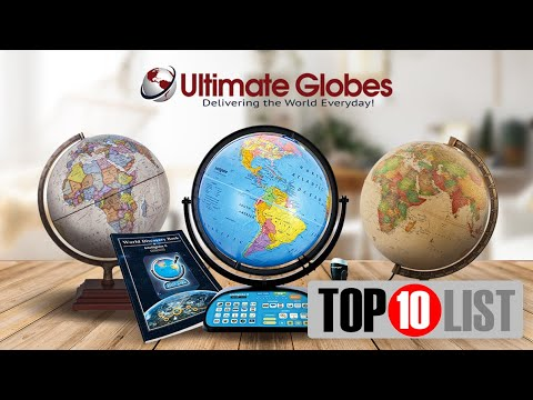 2018 Top 10 Globes for Kids | Ultimate Globes