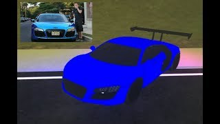 LANCE STEWART'S AUDI R8 IN ROBLOX! ROBLOX VEHICLE SIMULATOR