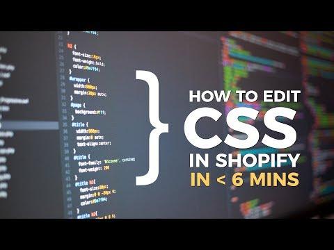 CSS Shopify ( Shopify Basic Expert Tutorial ) thumbnail