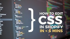 CSS Shopify ( Shopify Basic Expert Tutorial )
