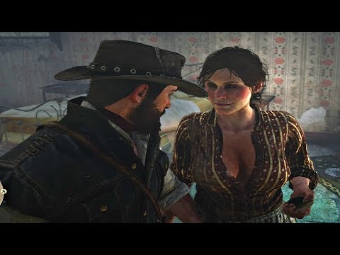 Red Dead Redemption 2 - John Marston Gets Seduced By Incest Woman