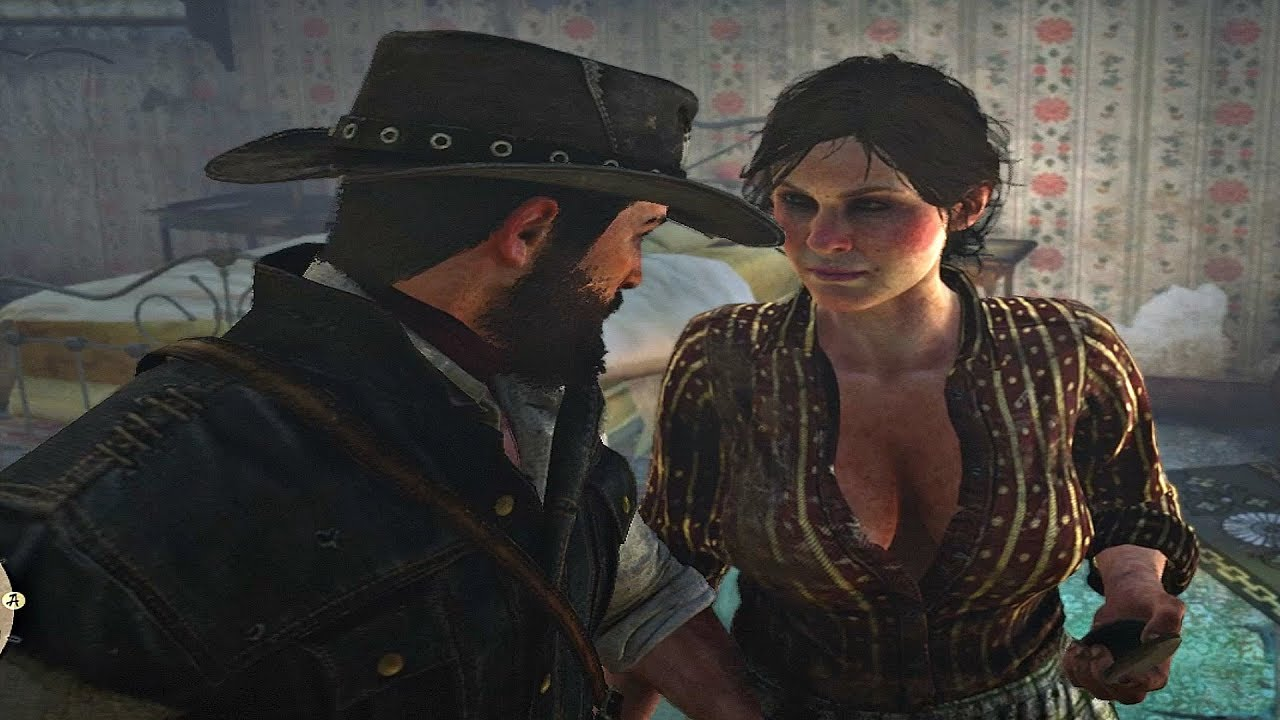 Red Dead Redemption 2 John Marston Gets Seduced By Incest Woman