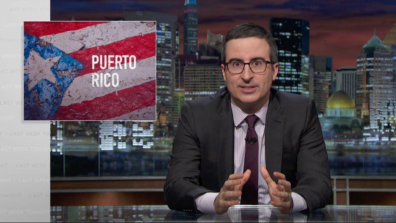Puerto Rico: Last Week Tonight with John Oliver (HBO)