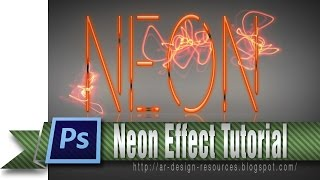 How to create a cool Neon effect — Photoshop Tutorial