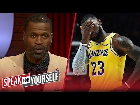 Stephen Jackson on LeBron's regular season debut for the Lakers | NBA | SPEAK FOR YOURSELF