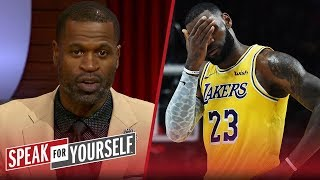Stephen Jackson on LeBron's regular season debut for the Lakers | NBA | SPEAK FOR YOURSELF