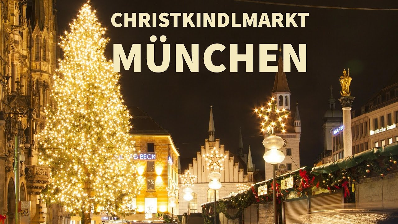 Christmas In Munich Germany.Munich Christmas Market Christkindlmarkt Munchen 2016