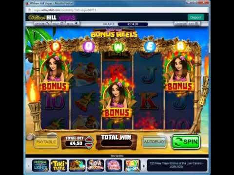 Tiki Tastic Bonus Game @ William Hill Casino