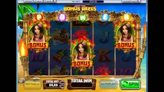 Tiki Tastic Bonus Game @ William Hill Casino(, 2016-01-26T08:53:12.000Z)