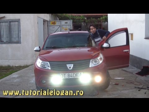 Tutorial montat cornering si follow me home pe Sandero