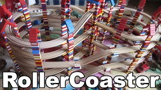 Brio & Lego Rollercoaster Wooden Toy Train / Holzeisenbahn Spielzeug Achterbahn