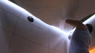 Установка парящего потолка(На видео представлены этапы установки 'парящего' натяжного потолка. Подробнее тут: http://sunceilings.ru/paryashhie-natyazhnye-p..., 2015-06-21T13:42:52.000Z)