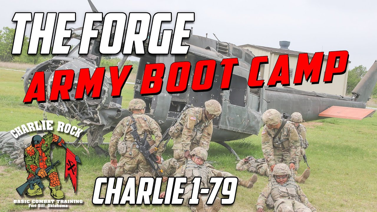 US Army Basic Training - The Forge - Charlie 1-79