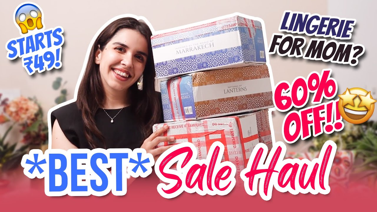 😱 DESI MOM shops for my bras ONLINE? 👙 60% Off Sale TryOn Haul & Lingerie Guide 101 🌸 | Heli Ved