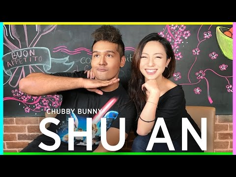 Chubby Bunny with Shu An