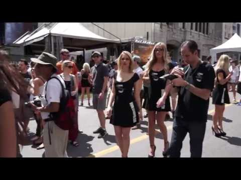 Sexy Montreal women at the F1 Grand Prix