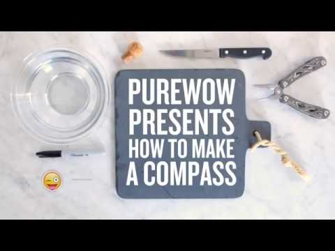 How To Make Your Very Own Compass It's Actually Super Easy