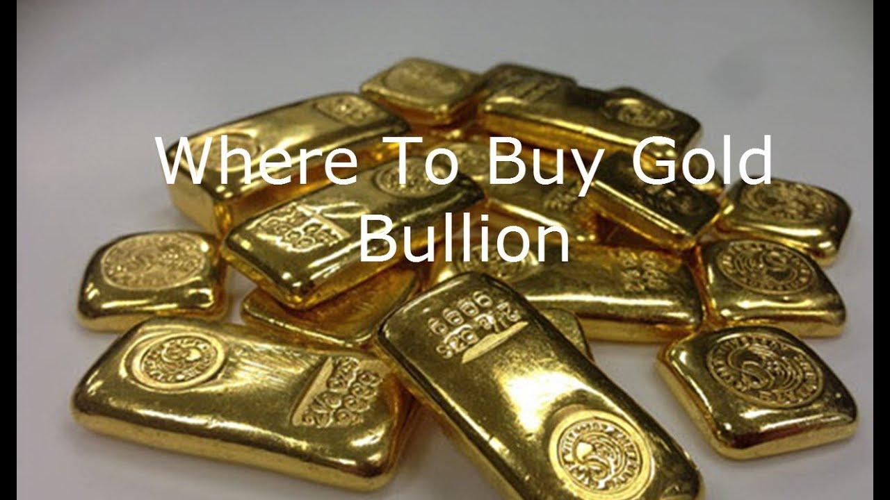 where to buy gold bullion - YouTube