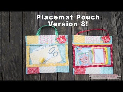 Placemat Pouch Version 8 - Clear Project Pouch