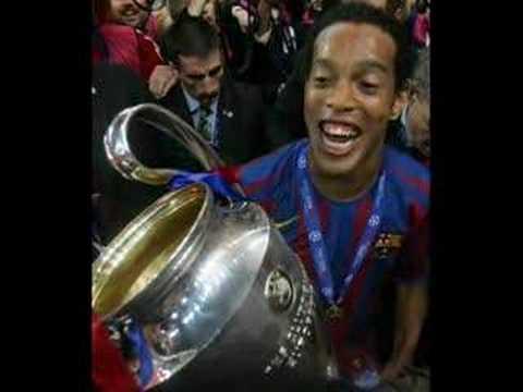 barcelona ronaldinho eto'o deco uefa championsleague