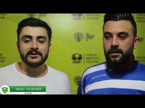 Röportaj Mert Aydemir - Barış Aslantaş - Süvari/ANKARA/� RAKİPBUL AÇILIŞ LİGİ 2018