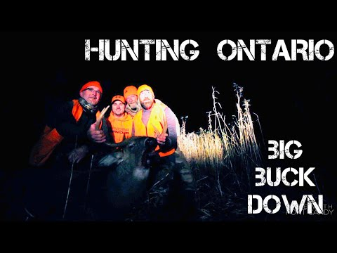 HUNTING ONTARIO ~ Big Buck Down