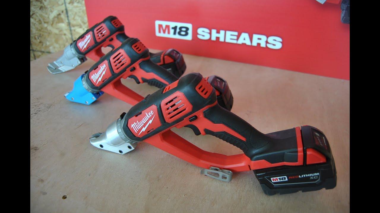M18 Cordless Shears From Milwaukee Tool Youtube