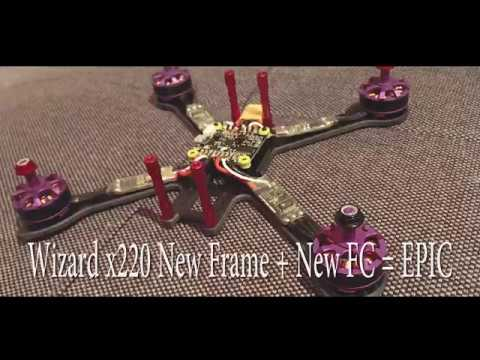 Wizard x220 rebuild, CL Racing F4S, I Flight iX5 200mm, Jumper t8sg