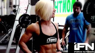 iForceTV - 2014 Brooke Walker Legs and Back Circuit at the Arnold Classic