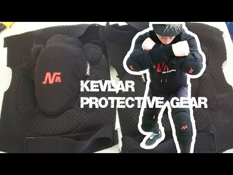 Kevlar Protective Gear, Knee Pads And Elbow Pads