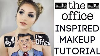 THE OFFICE INSPIRED MAKEUP TUTORIAL!