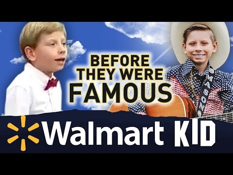 YODELING WALMART KID | Before They Were Famous | Little Hank AKA Mason Ramsey