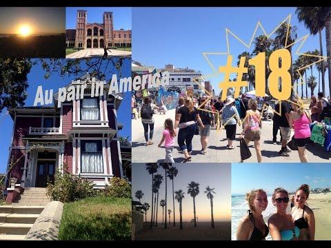 Au pair in America #18 Vlog séjour à Los Angeles