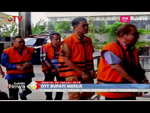 Hasil OTT KPK Bupati Mesuji, 5 dari 10 Orang Jadi Tersangka - BIP 25/01