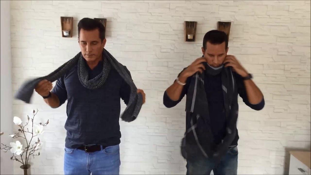 Schal Binden Leicht Gemacht Für Männer Youtube
