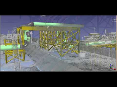 BIM Offshore Structure Modeling