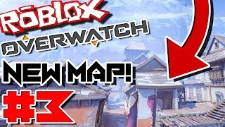 ALREADY BREAKING THE BRAND NEW MAP! | Roblox: OverBlox (Overwatch) - Episode 3