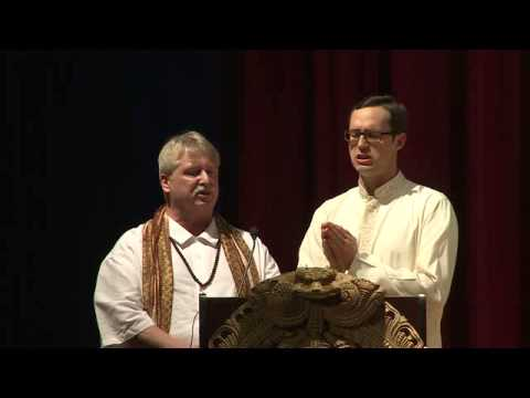 Sri Rudram Chanting by Jeffrey Erhard and Steve Burdick at HTGC