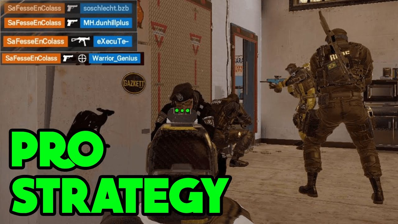 Pro Amaru & Castle Strat - Rainbow Six Siege Gameplay thumbnail