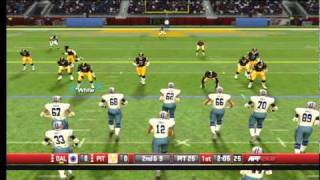 All Pro Football 2K8 Live Gameplay pt.1