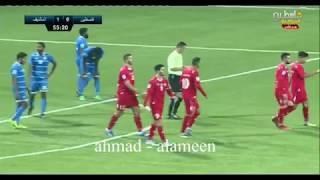 منتخب فلسطين يسحق جزر المالديف بثمانية أهداف ..فيديو