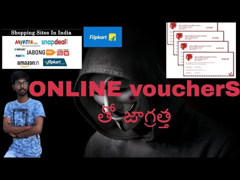 Beware with online shopping vouchers
