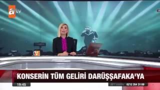 Megastar Tarkan yine İstanbul'u Salladı | Hafta Sonu atv Ana Haber Video