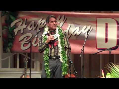 Lt. Governor Duke Aiona Birthday Bash Part 1 of 2