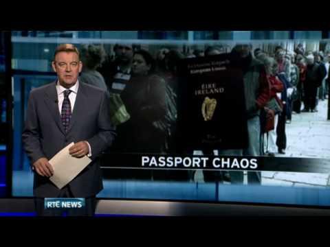Chaos at Dublin Passport Office