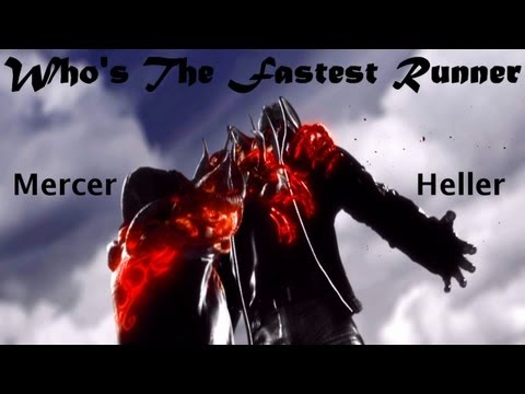 Alex Mercer Vs. James Heller - Who's The Fastest Runner?