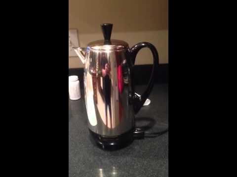 hqdefault farberware vintage percolator model 142b youtube